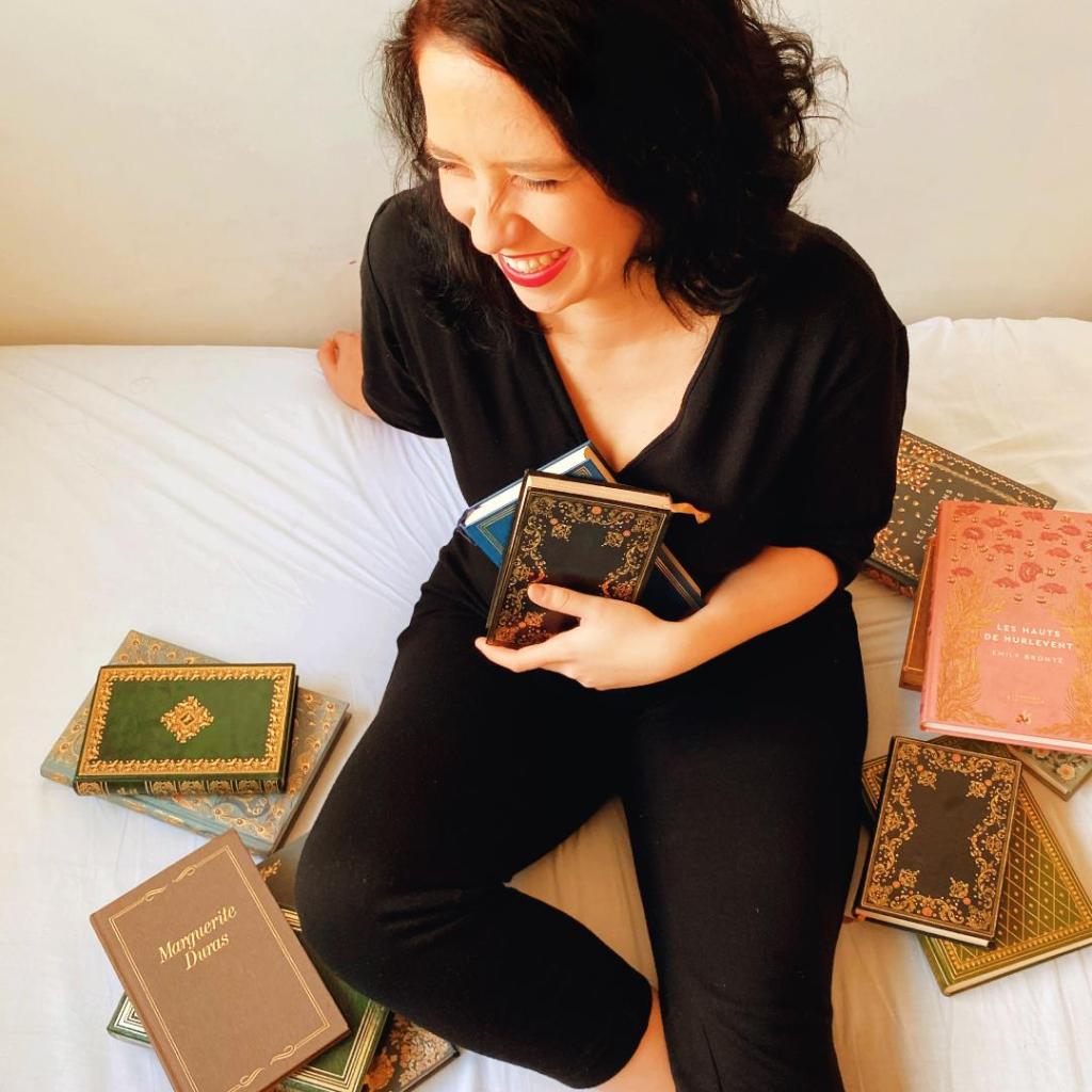 Marie Jouvin Trouble bibliomane bonheur